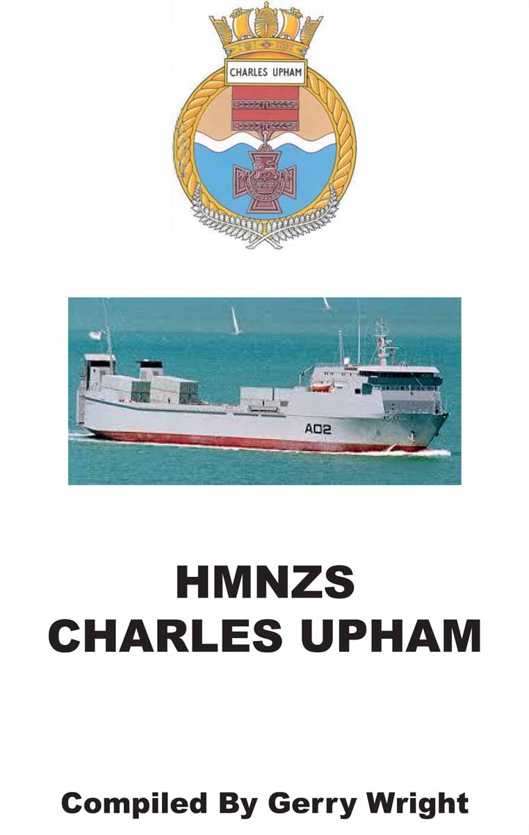 HMNZS Charles Upham by Gerry Wright